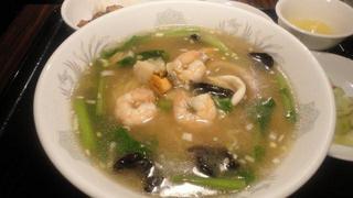 海鮮の塩味湯麺.JPG