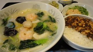 海鮮湯麺(メニュー).JPG
