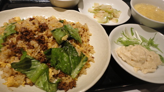牛挽肉炒飯(メニュー).JPG