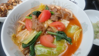牛肉とトマト春キャベツ塩味湯麺.JPG