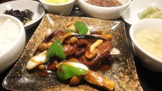 牛肉と茄子の甘味噌炒め.JPG