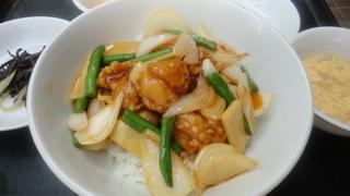 若鶏と春野菜の甘辛炒め.JPG