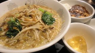 豚肉高菜の湯麺.JPG
