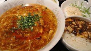 酸辣湯麺(メニュー).JPG