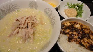 鶏そば(メニュー).JPG