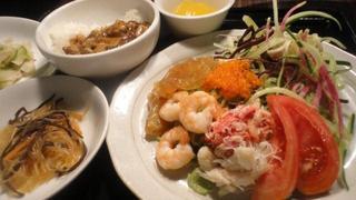 黒酢冷麺お膳.JPG